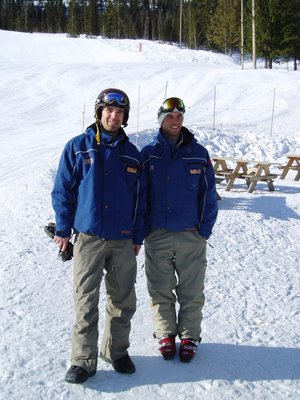 Snowboard Instructors we are!