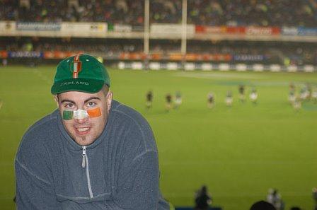 Tony @ Ireland Vs All Blacks - Eden Park Auckland