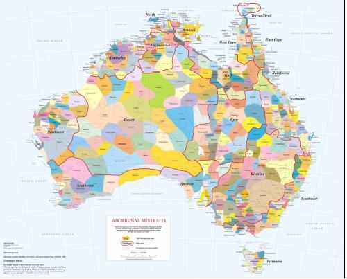 Map Of Aboriginal Australia