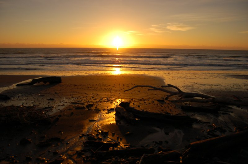 Sunrise over Beach @ East Cape