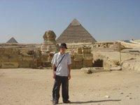 Me at the Pyramids @ Giza