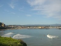 Boardwalk and Surf Break - Santa Cruz