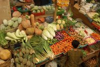 Fruit for Sale in Market in Denpasar - Bali, Indonesia