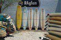 Surfboards in Raglan