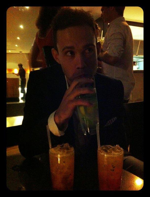 Rob & many drinks