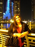 At the Dubai Marina