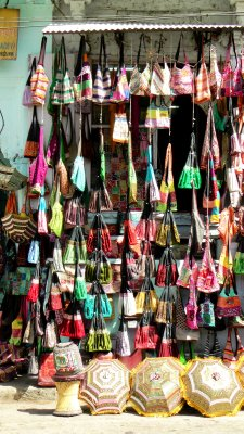 A colourful shop in Udaipur