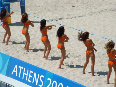 Olympics Beach Volleyball Tournament