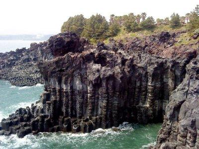 Jusang Jeolli  Rocks on Jejudo