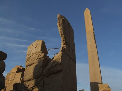 Queen Hatshepsut obelisk at Karnak Temple