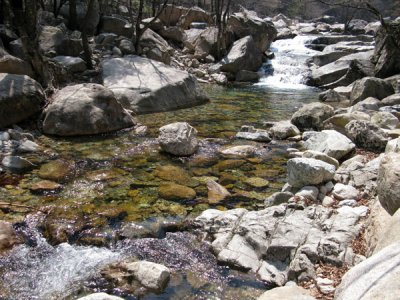 River streams in Seoraksan National Park