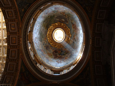 Dome at roman church