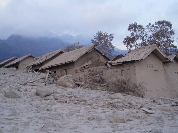 Merapi Eruption in 2006