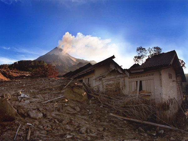 Merapi Eruption in 2006