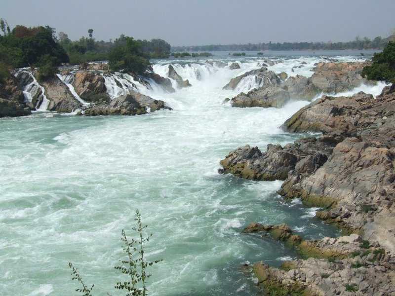 Waterfall in Doi Det, Laos