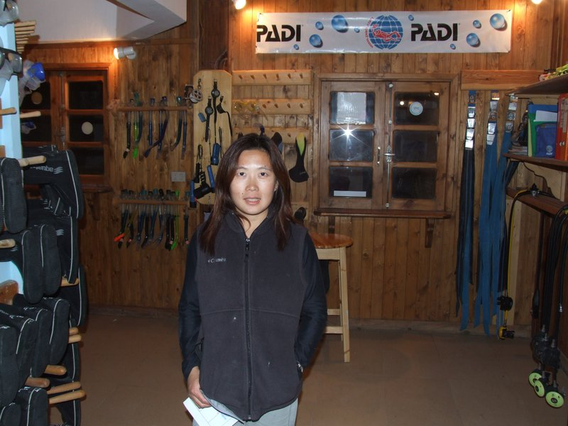 PADI Dive Center in Dehab