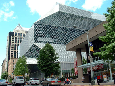 Seattle Public Library by Rem Koolhaas OMA
