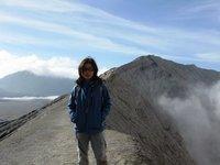 Trekking around Crator of Gunung Bromo