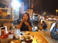 Dinner in Phnom Penh Street Food Stall