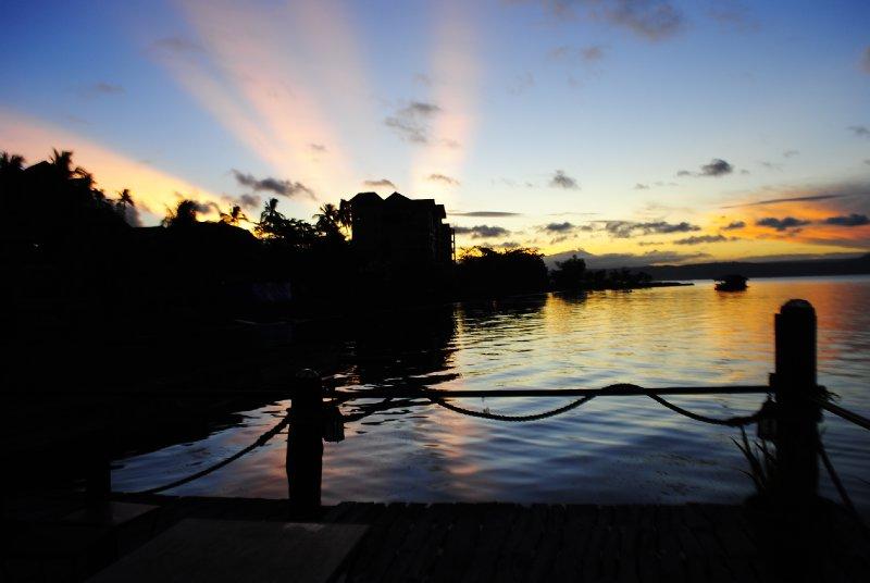 Sunrise at Balai Isabel Batangas