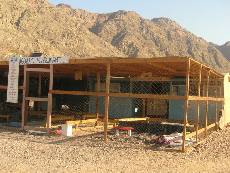 restaurant in the desert