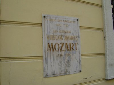 Mozart played here