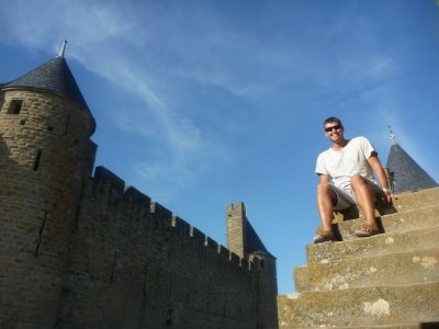 UNESCO listed, Carcassonne is considered to be an excellent example of a medieval fortified town