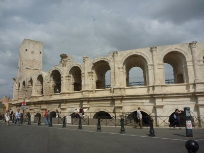 The Arènes d'Arles was built just 10 years after the Colosseum in Rome