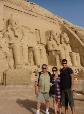 The awe inspiring Ramses II temple