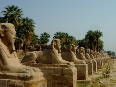 The Avenue of the Sphinx