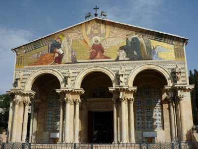 The Church of the Ascension in Jerusalem