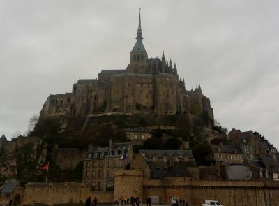Instantly recognisable - Mont St Michel