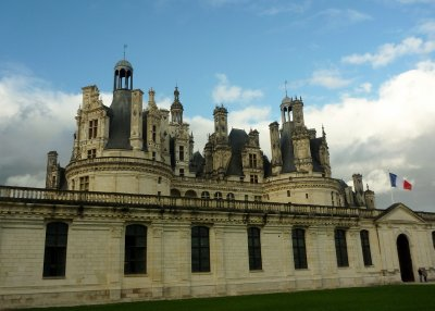 It is thought Da Vinci may have had some involvement in the design of the Chateau