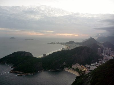 View over Copa from Sugarloaf