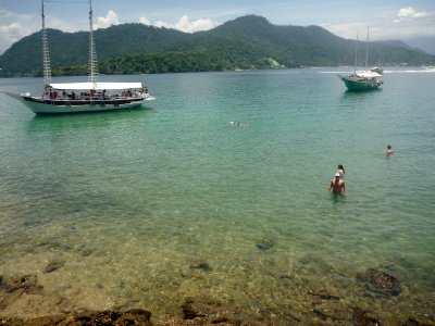 Crystal clear waters of Ilha Grande area