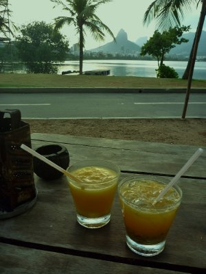 Sundowners at Rodrigo de Freitas Lagoon