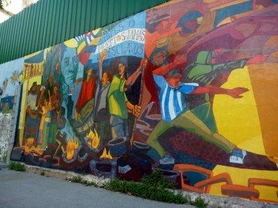 Street art in La Boca