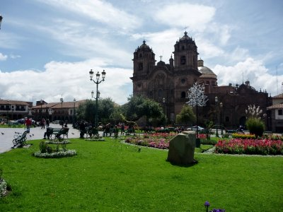 Cusco&#39;s main square