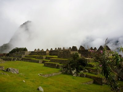 The best reward after four days of hiking - Machu Picchu!