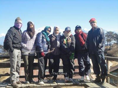 one group pic in Sandakphu