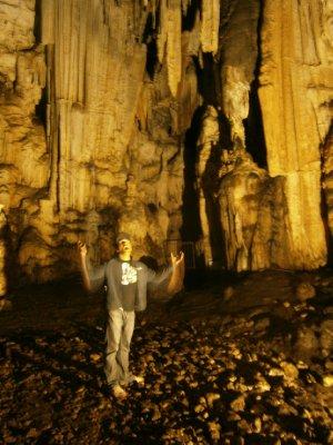 Eerie caves