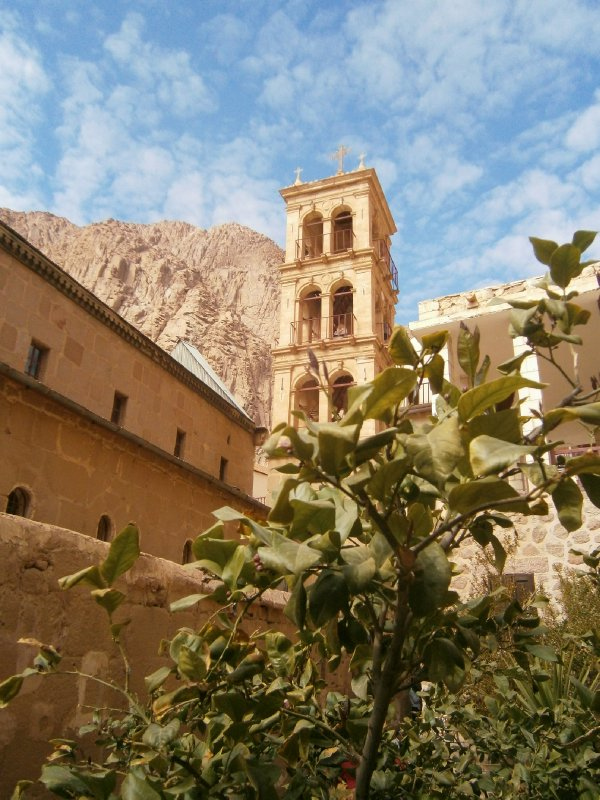 St Catherine&#39;s monastery, at the base of Mt Sinai