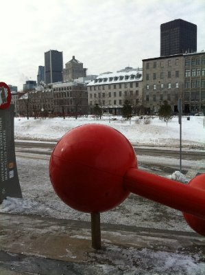 Boule sur Vieux-Montréal