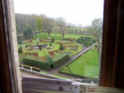 Dunrobin castle - garden view