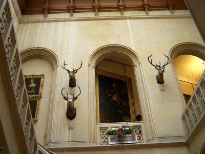 Dunrobin castle - stairwell