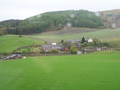 view from the Inverness to Edinburgh train