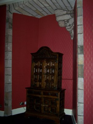 Robert the Bruce room Dalhousie Castle