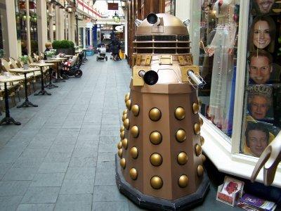 Dalek  in Cardiff