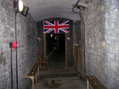 Cardiff Castle - air raid shelter