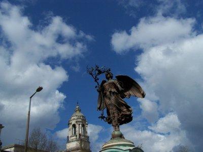 Angel of peace - Boer war memorial